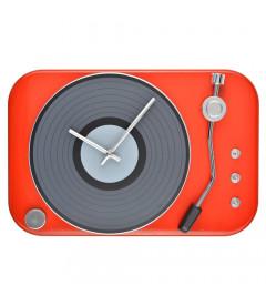 Horloge Tourne Disque Rouge