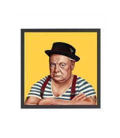 Tableau Winston Churchill par Amit Shimoni