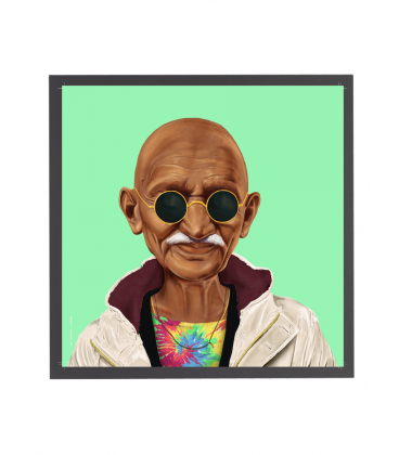 Tableau Gandhi par Amit Shimoni