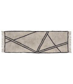 Tapis de Chambre Couloir Style Berbère 100% Coton- L 200,0cm- W 70,0cm