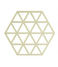 Dessous De Plat Triangles Limone en Silicone