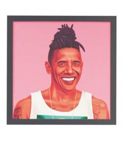 Tableau Barack Obama par Amit Shimoni