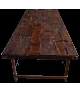 Table A Manger 250cm Vieux Bois