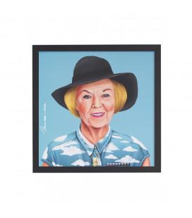 Tableau Queen Beatrix par Amit Shimoni
