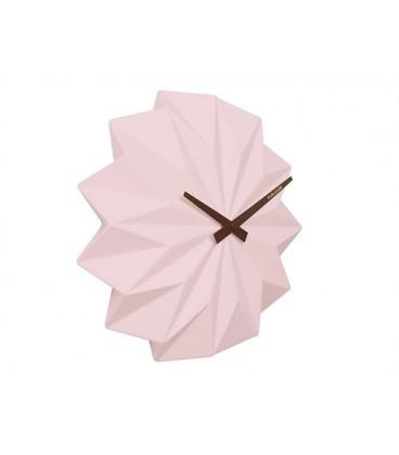 Horloge Origami Rose