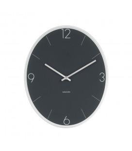 Horloge Karlsson Elliptical Gris Foncé