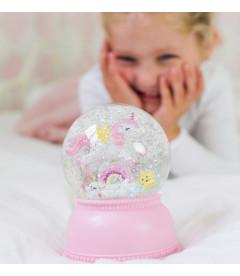 Veilleuse Boule de Neige Licorne