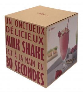 Cookut Shaker à Milkshake avec 2 Verres & Pailles