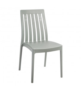 Chaise Empilable Gris