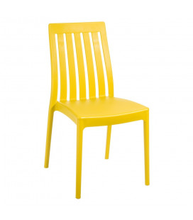 Chaise Empilable Jaune
