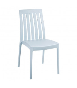 Chaise Empilable Bleu Clair