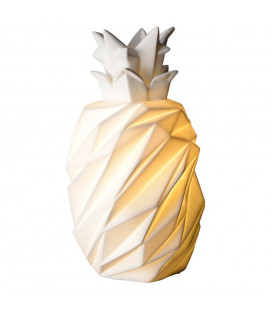 Lampe Ananas Porcelaine
