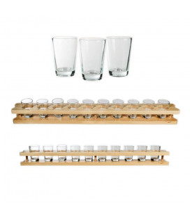Set de 10 Verres Shooter + Support