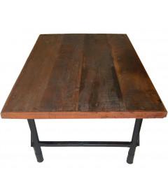 Table De Salon Vieux Bois
