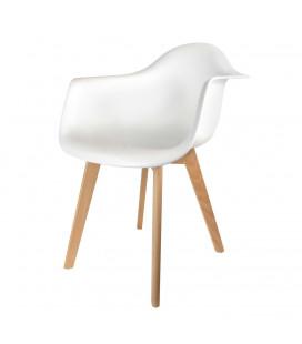 Chaise Scandinave Blanc