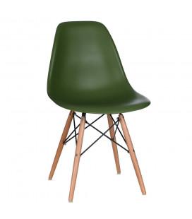 Chaise Vintage Vert Foncé