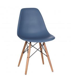 Chaise Vintage Bleu Ciel