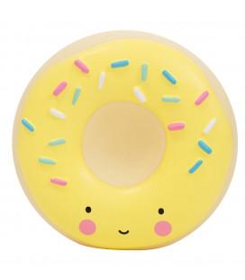 Tirelire Donut Jaune