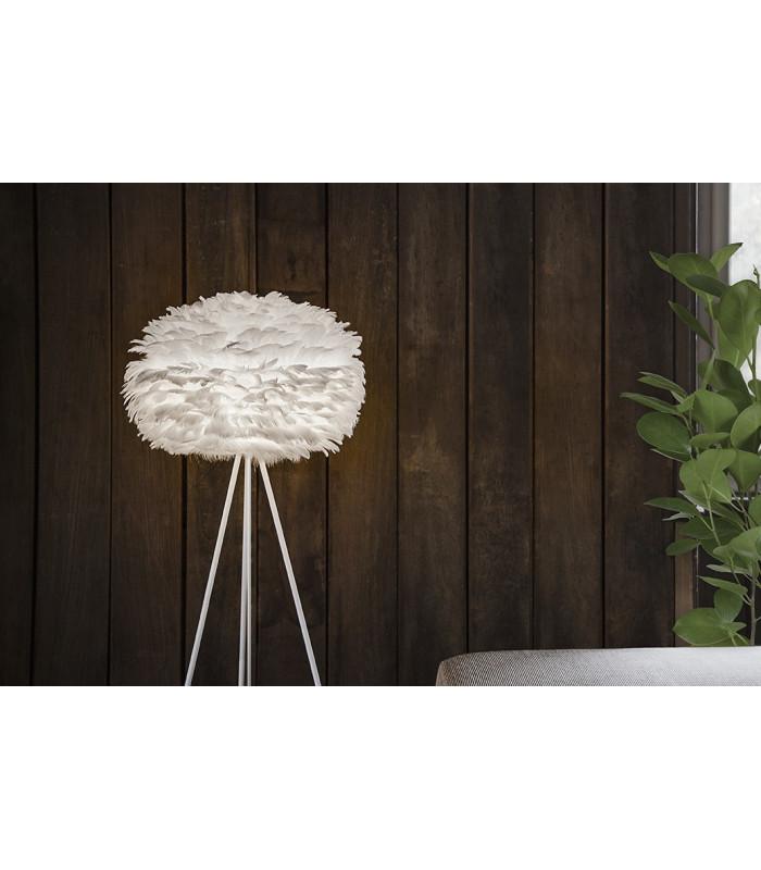 abat jour eos blanc medium h gen. Black Bedroom Furniture Sets. Home Design Ideas
