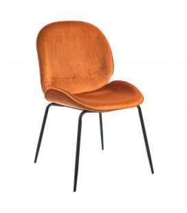 Chaise Tolls Orange