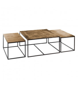 Set de 3 Tables Basses
