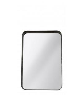 Miroir Metal Noir H 33cm L 22cm W 5.5cm Pc