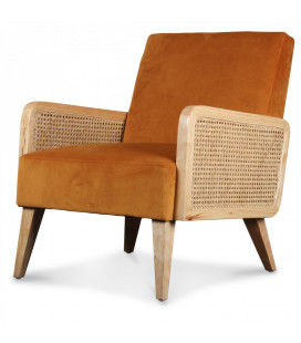 Fauteuil Cannage Indi