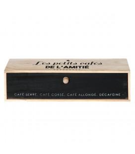 Boîte à café à 5 compartiments