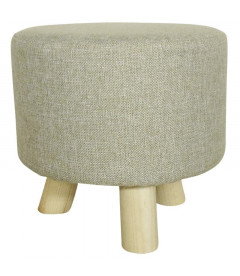 Tabouret bas Taupe
