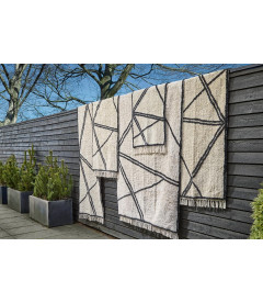 Tapis de Chambre / Couloir Style Berbère 100% Coton L 140cm W 70cm