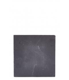 Ardoise Pour Bougie - Gris - H 0,5cm - L 15,0cm - W 15,0cm