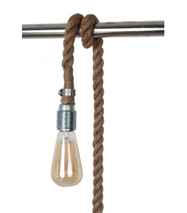 Lampe Corde + Ampoule Cône Rétro