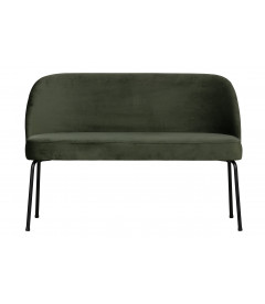 Banquette de Table 2 Places Vogue Vert Onyx