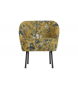 Fauteuil Vogue Poppy Moutarde