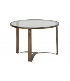 Table d'Appoint Occa Laiton Antique