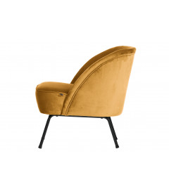 Fauteuil Vogue Moutarde