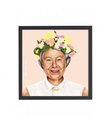 Tableau Queen Elizabeth par Amit Shimoni