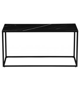 Table d'Appoint Rectangulaire Side Noir
