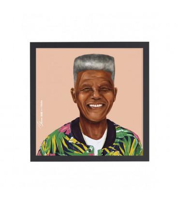 Tableau Nelson Mandela par Amit Shimoni