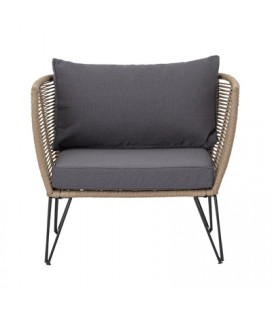 Fauteuil Mundo Brown - Outdoor Bloomingville