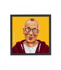 Tableau Dalai Lama par Amit Shimoni