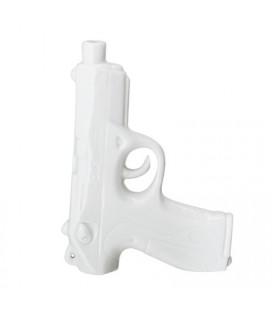 Vase Pistolet Blanc Bloomingville