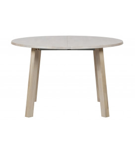 Table A Manger Extensible Ronde à Ovale Chêne