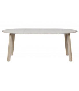 Table A Manger Extensible Ronde à Ovale Chêne