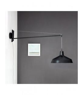 Lampe Murale Becket Noir Mat
