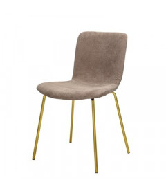 Chaise Bloom Gatherings Taupe Gold Bloomingville