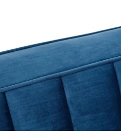 Canapé Comodo 2 Places Bleu