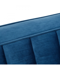 Canapé Comodo 3 Places Bleu