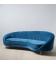 Canapé Festone 3 Places Bleu 247cm