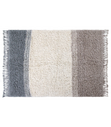 Tapis Laine Into the Blue XL 200 / 300 cm Lavable en Machine